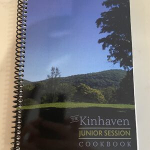 Kinhaven Junior Session Cookbook Sale!